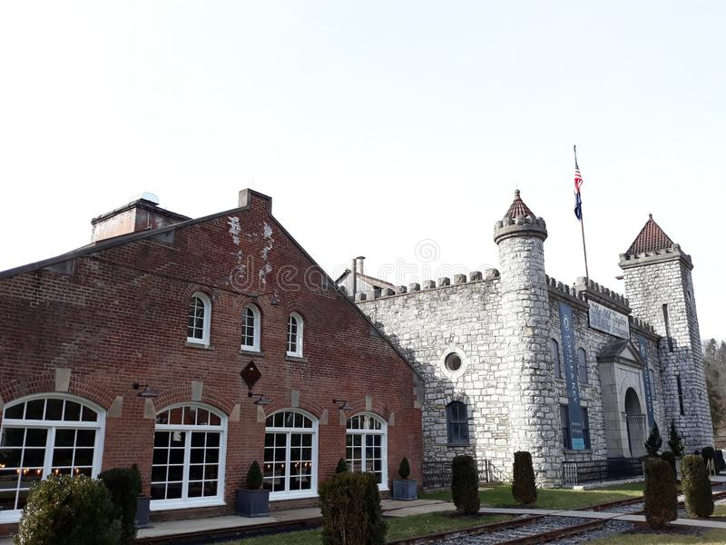 Centrale zoetwater de bourbondistilleerderij van Kentucky royalty-vrije stock afbeeldingen