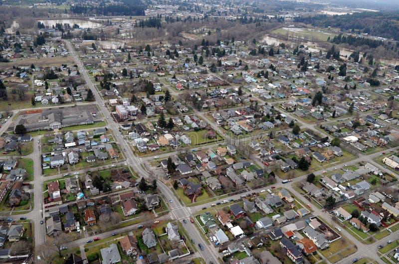 Centralia staten Washington royaltyfria bilder