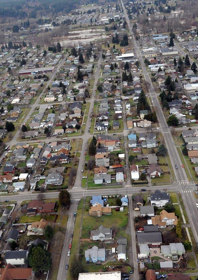 Centralia staten Washington royaltyfri foto