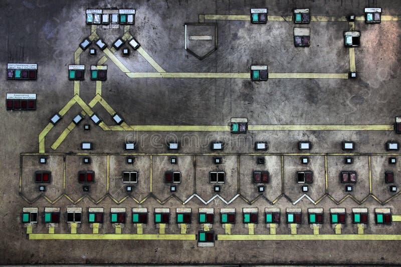 Centralita telefónica de la fábrica ilustración del vector