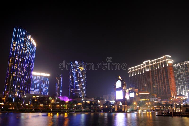 centralnego miasta contai marzy Macau piaski zdjęcie royalty free