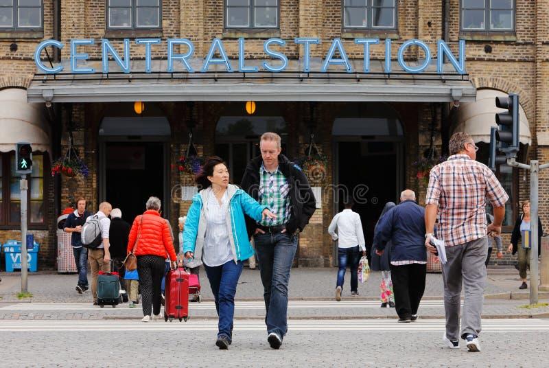 Centralstation a Gothenburg immagine stock libera da diritti