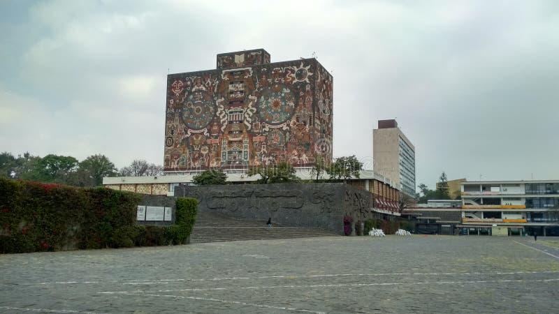 Centralt arkiv för UNAM royaltyfria foton