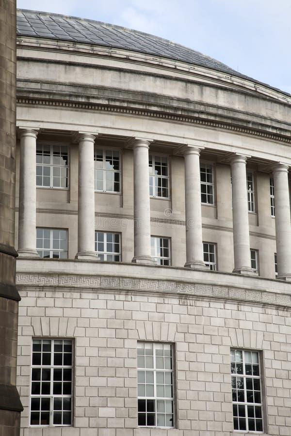 Centralt arkiv, Manchester royaltyfria bilder