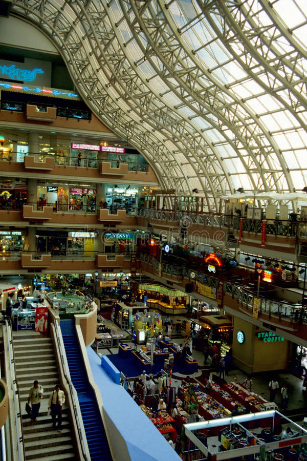 centre centrum handlowego zakupy fotografia royalty free