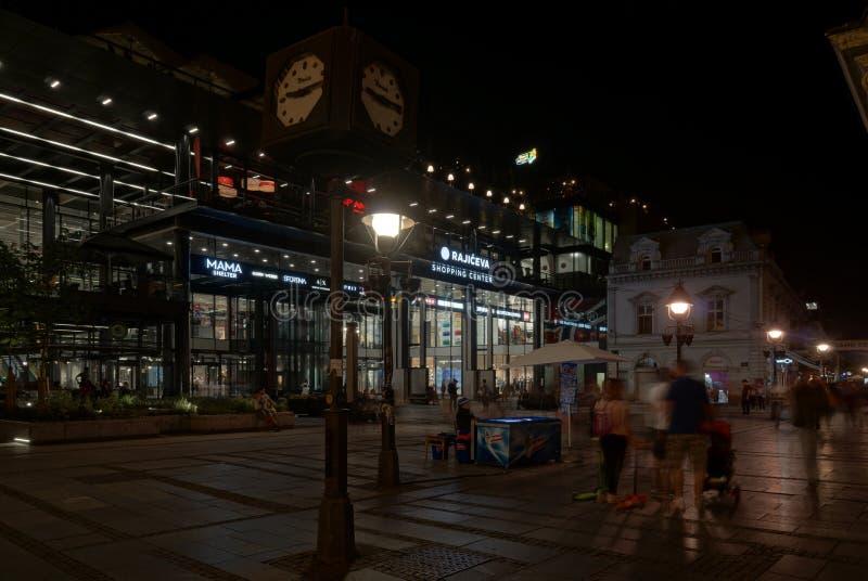 Centre commercial à Belgrade photos stock
