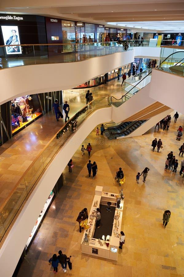 Centre commercial à Hong Kong photos stock