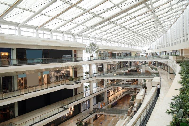 Centre commercial image libre de droits