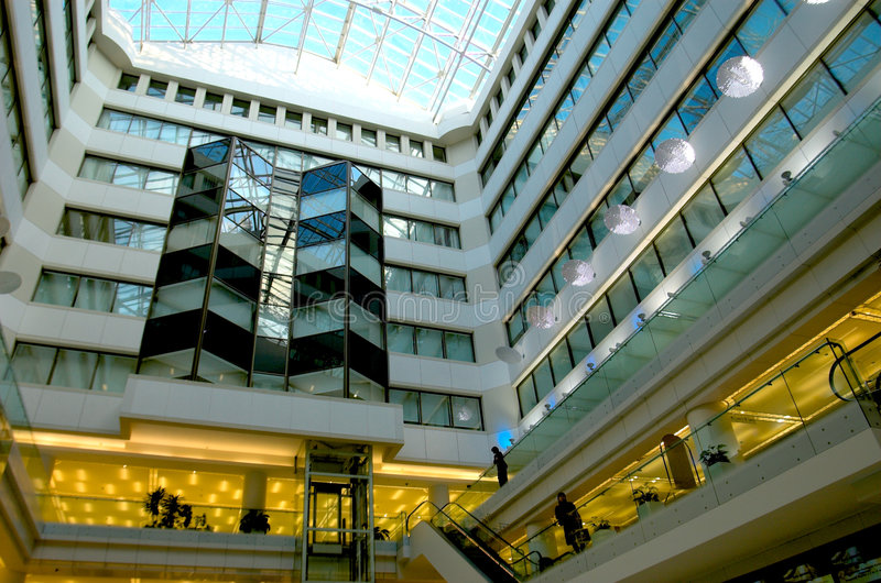 Centre commercial images libres de droits