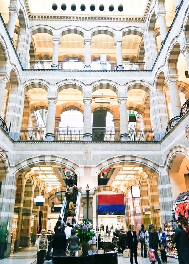 Centre commercial, Amsterdam images libres de droits