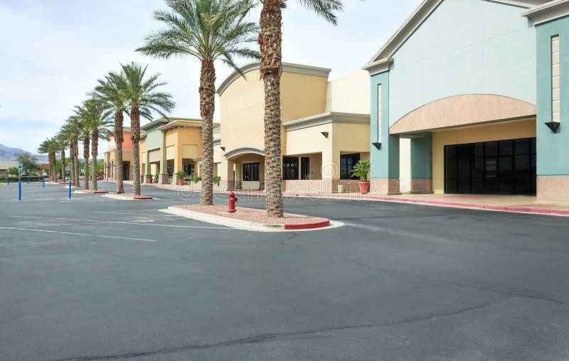 Centre commercial commercial vide photographie stock