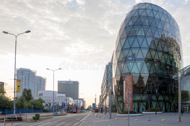 Centre commercial d'Eurovea Bratislava, Slovaquie photo libre de droits