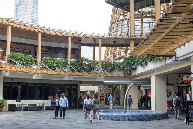 Centre commercial de ceinture verte photographie stock libre de droits