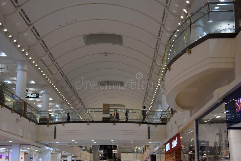 Centre commercial de centre de la ville de Deira à Dubaï, EAU image stock