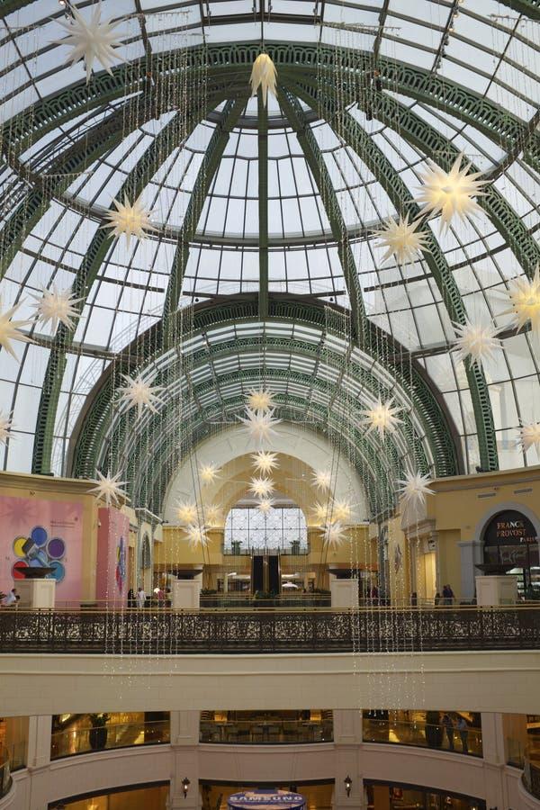 Centre commercial de Dubaï image stock