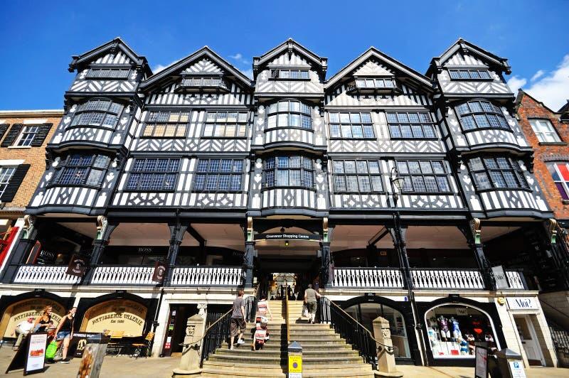 Centre commercial de Grosvenor, Chester photo stock