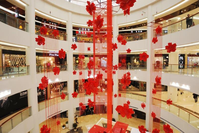 centre commercial de l'an 2012 neuf photographie stock libre de droits