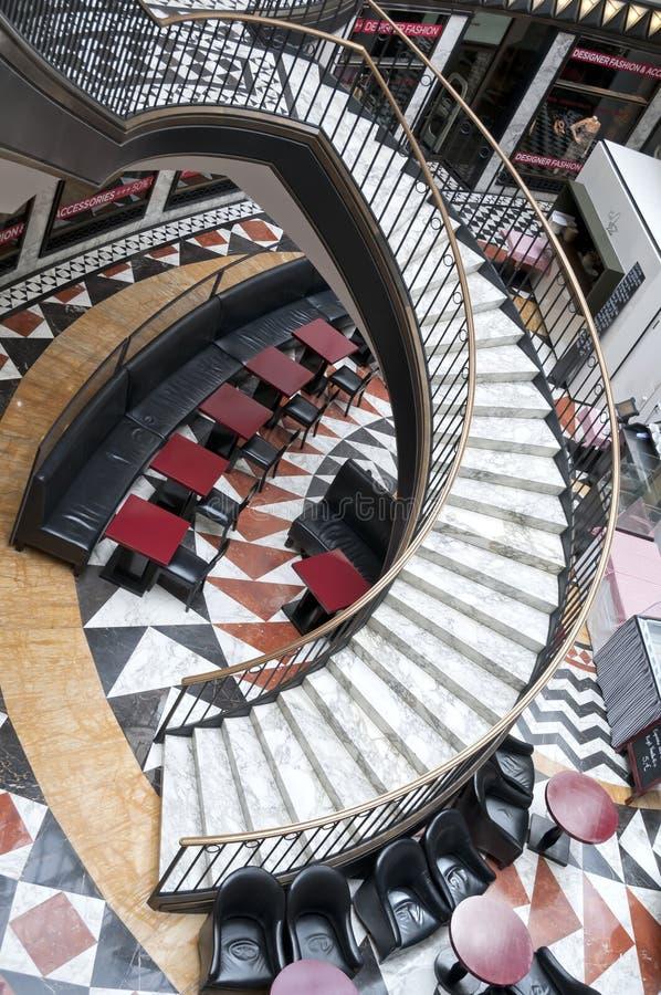 Centre commercial de luxe à Berlin photographie stock
