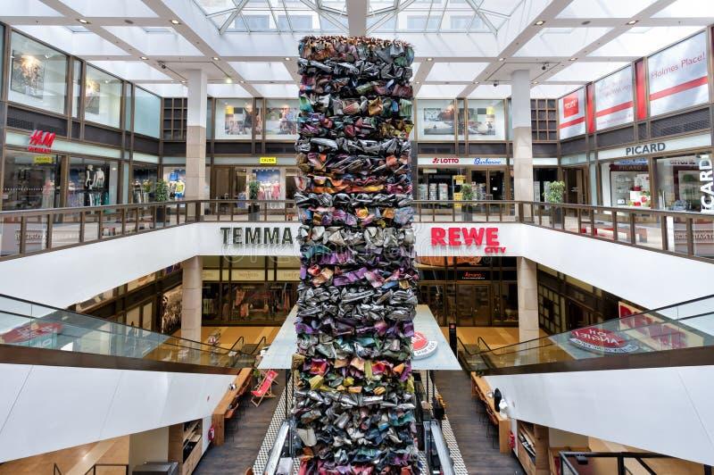 Centre commercial de luxe à Berlin photos stock