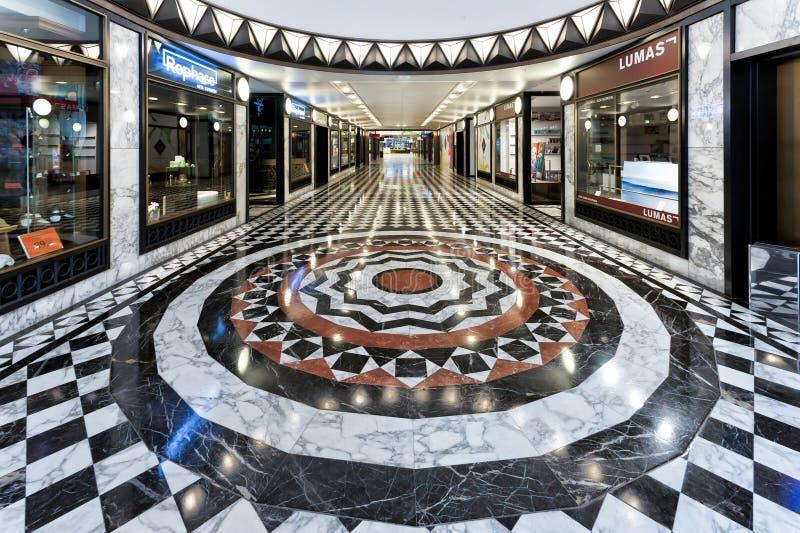 Centre commercial de luxe à Berlin photographie stock libre de droits