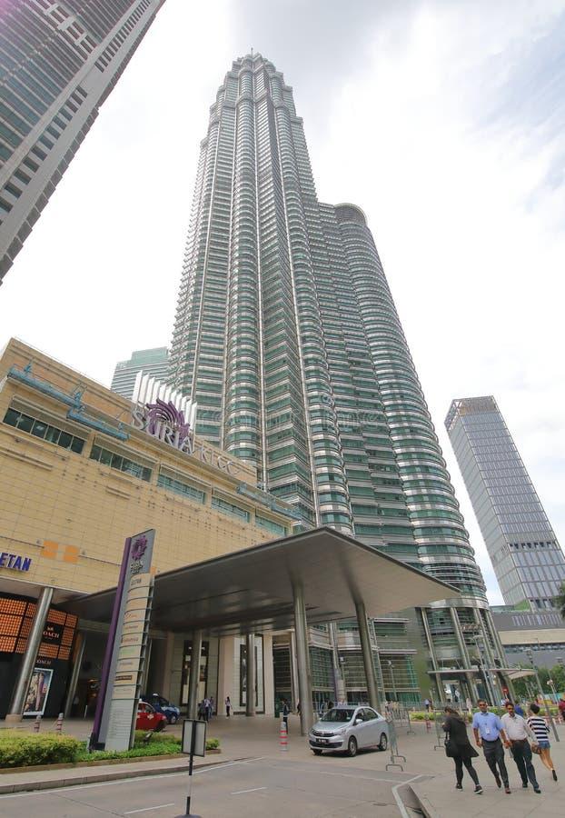 Centre commercial de Suria KLCC Kuala Lumpur Malaysia photo libre de droits