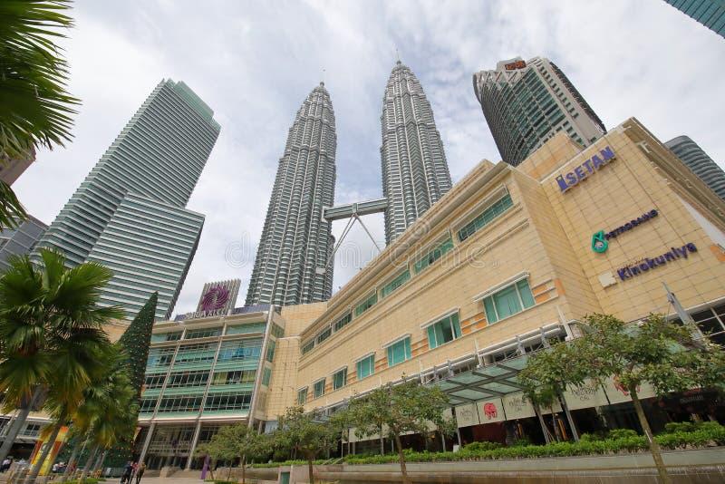 Centre commercial de Suria KLCC Kuala Lumpur Malaysia images stock