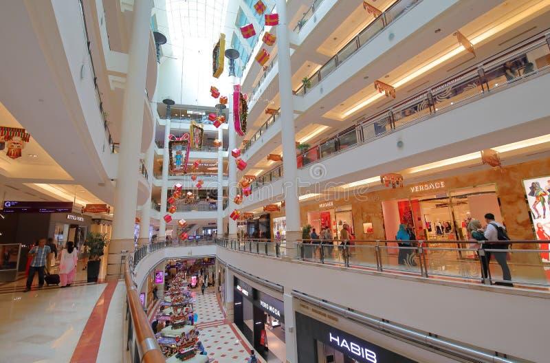 Centre commercial de Suria KLCC Kuala Lumpur Malaysia photos stock