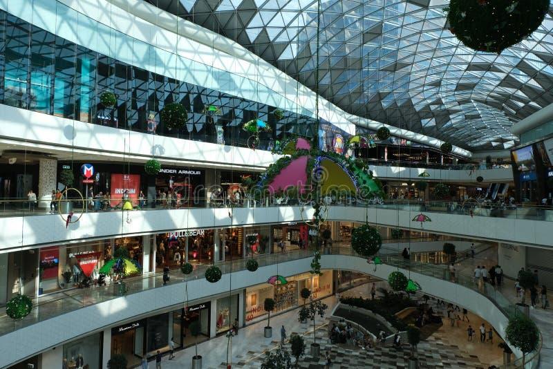 Centre commercial de Vadiistanbul, Istanbul, Turquie photos libres de droits