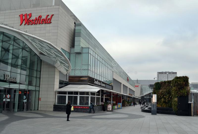 Centre commercial de Westfield Londres photographie stock libre de droits