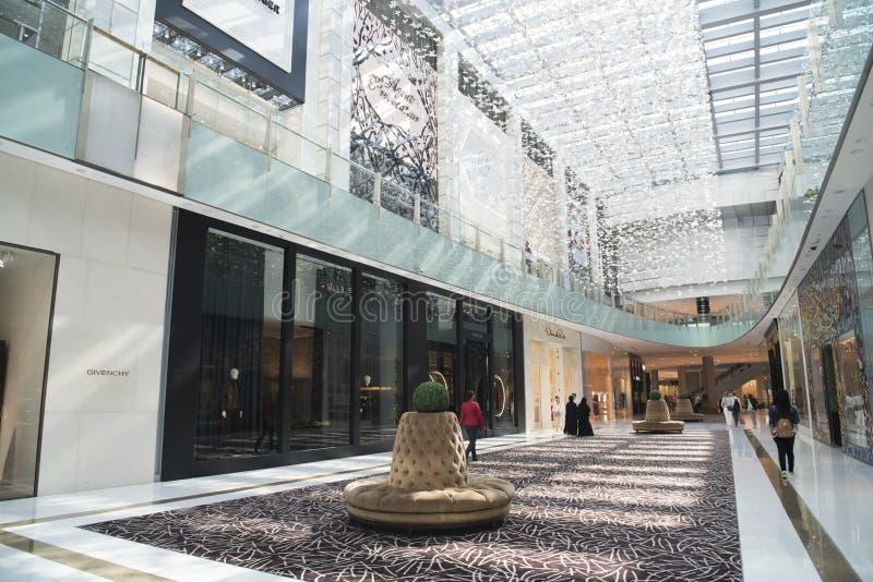 Centre commercial Dubaï photographie stock libre de droits