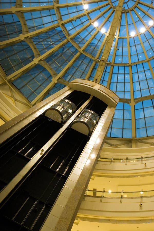 Centre commercial intérieur photo stock