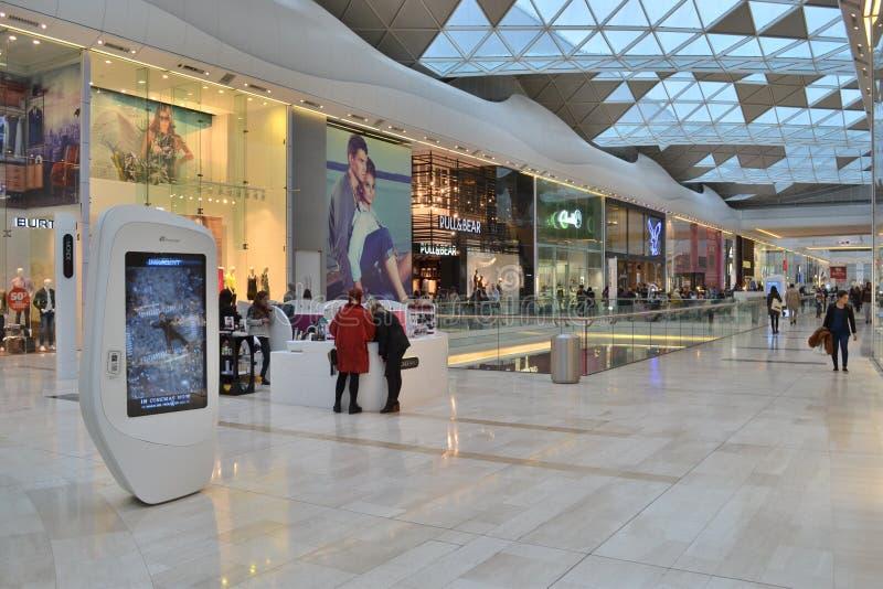 Centre commercial Londres images libres de droits