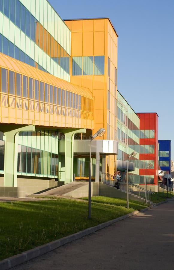 Centre commercial lumineux photographie stock libre de droits