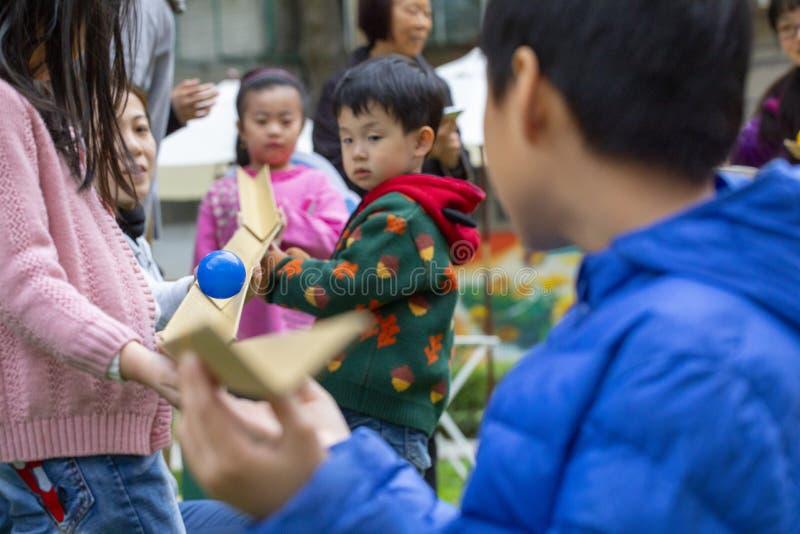 Centre d'activité communautaire, récréation de Limin, nouvelle Taïpeh ville de Taïwan, festival de la vie photo libre de droits