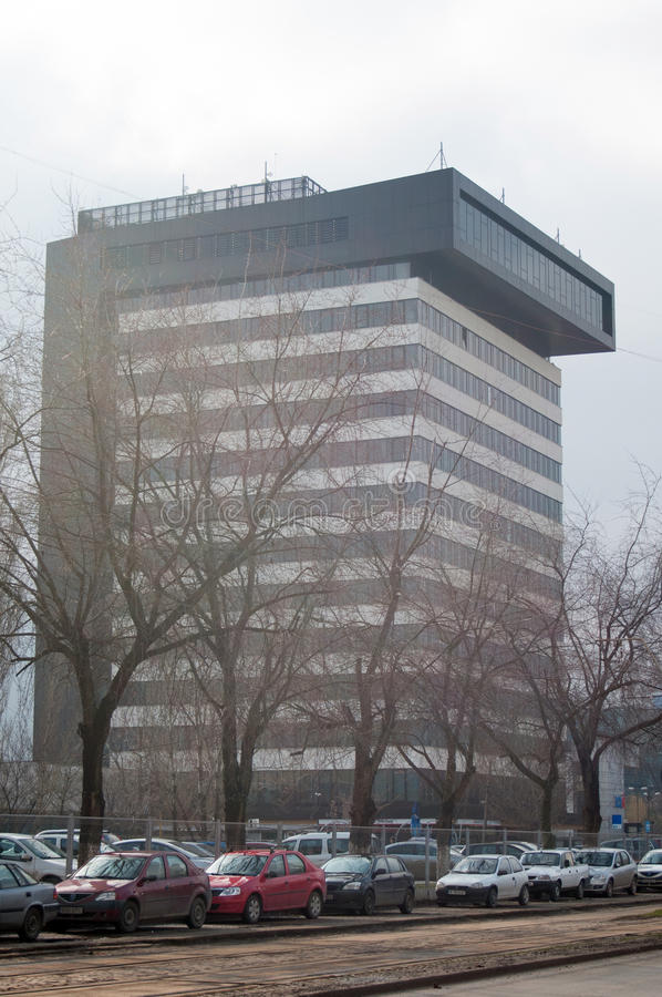 Centre d'affaires images stock