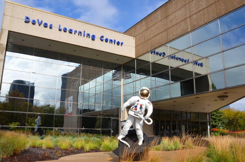 Centre d'apprentissage de DeVos à Grand Rapids image stock