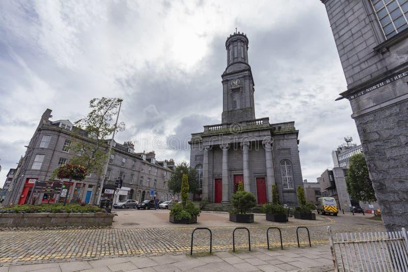 Centre d'arts d'Aberdeen images stock