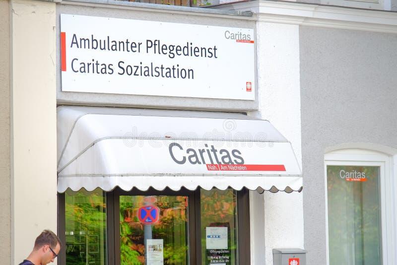 Download Centre D'assistance Sociale De Caritas Image stock éditorial - Image du espace, copie: 45353099