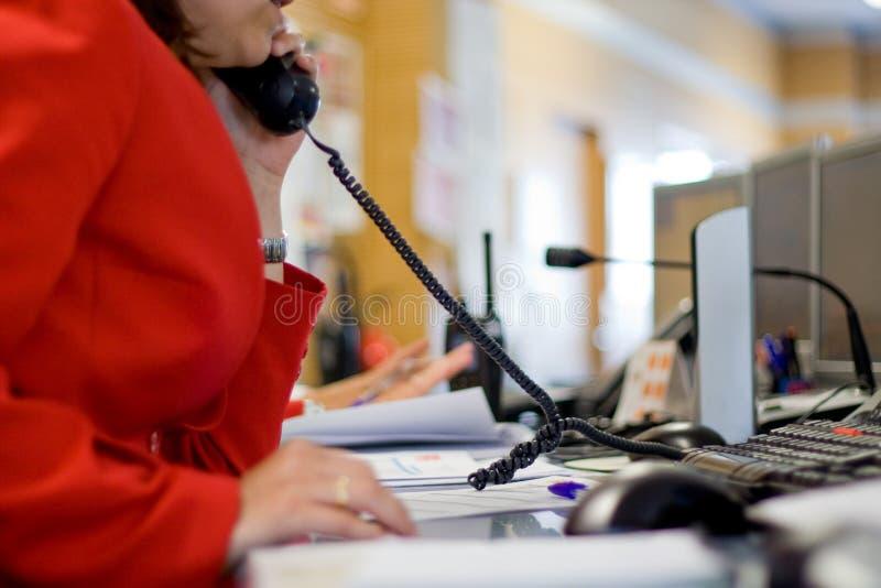 Centre d'attention téléphonique photos libres de droits