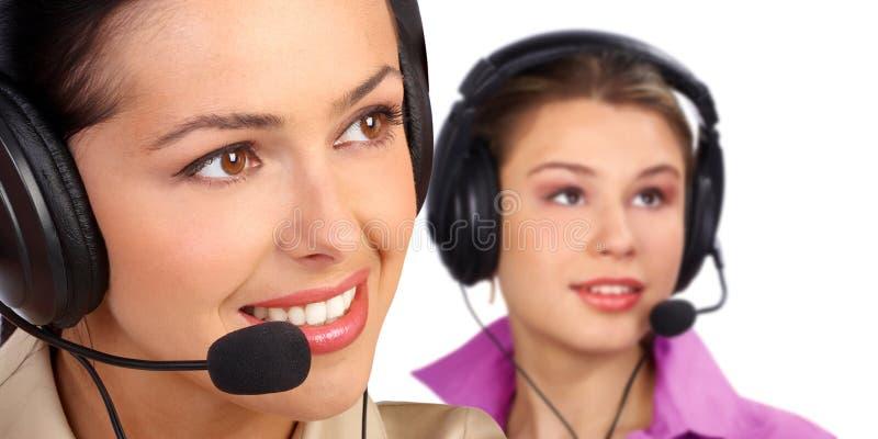 Centre d'attention téléphonique photos stock
