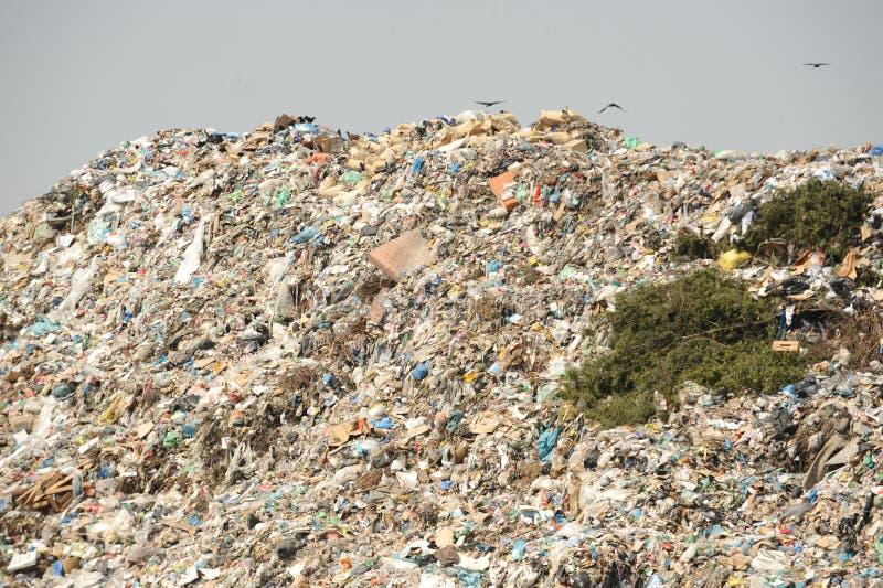 Centre d'enfouissement des déchets photos libres de droits
