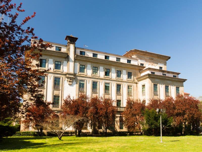 Centre d'enseignement supérieur de Fonseca chez Compostela photos libres de droits