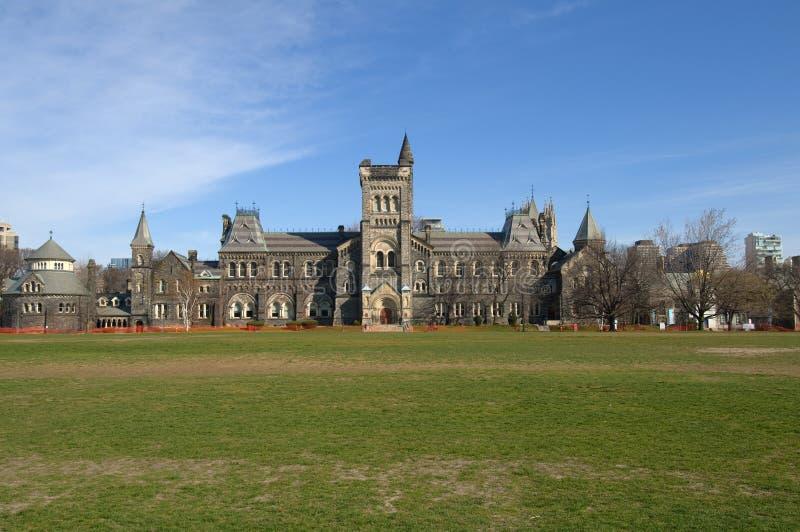 Centre d'enseignement supérieur, université de Toronto images stock