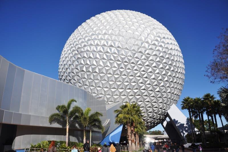 Centre d'Epcot, monde Orlando, la Floride de Disney photos libres de droits