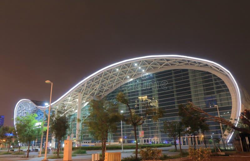 Centre d'exposition de Kaohsiung Taïwan images libres de droits