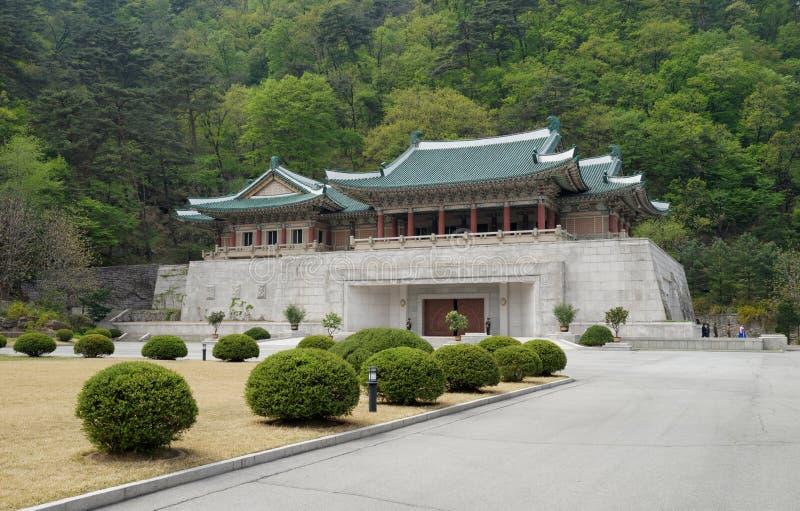 Centre d'exposition international d'amitié dans Myohyang, DPRK (Corée du Nord) photos stock