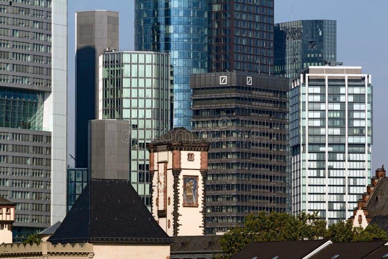 Centre d'opérations bancaires d'investissement de Deutsche Bank AG photographie stock
