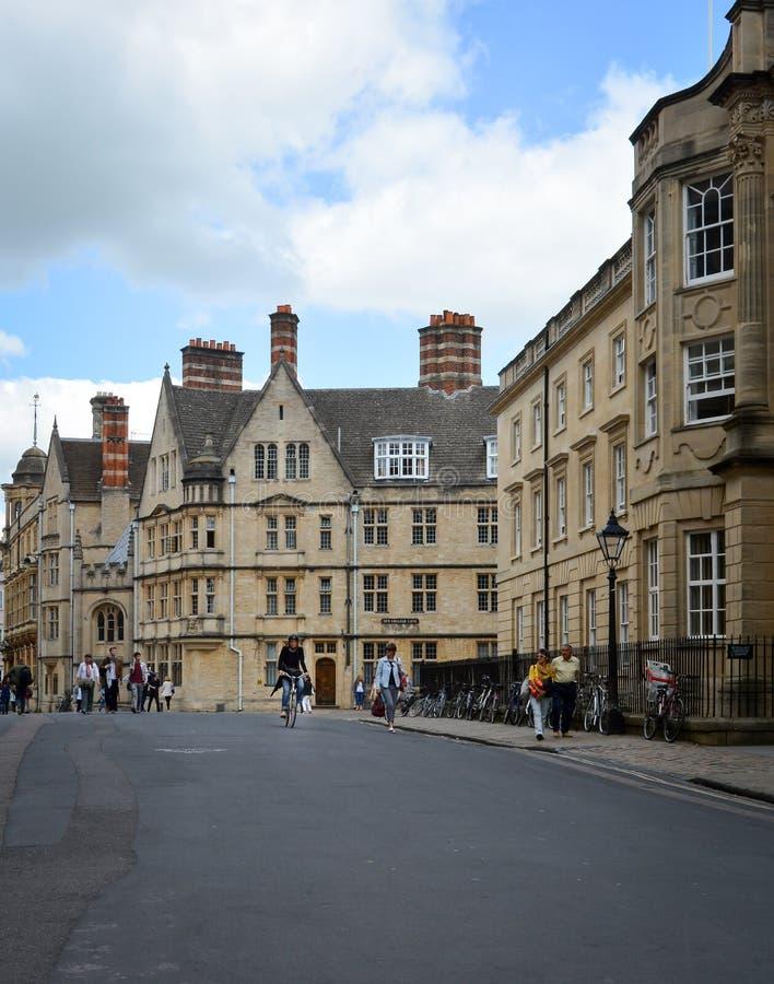 Centre d'Oxford images stock