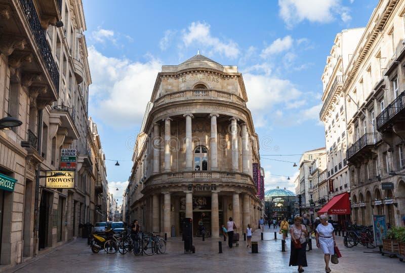 Centre de Bordeaux photo libre de droits