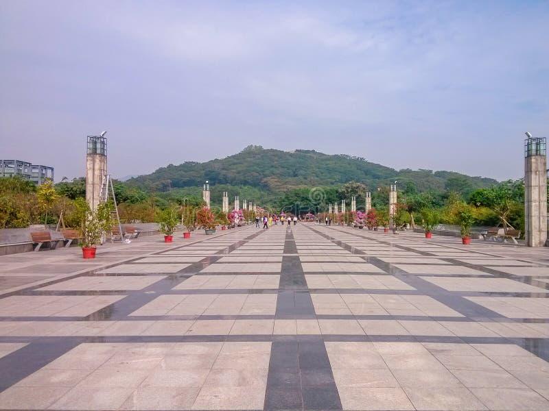 Centre de citoyen de Shenzhen, Chine photo libre de droits